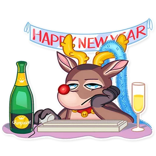 Mr. Deer - Sticker 6