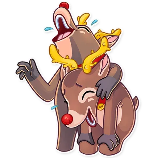 Mr. Deer - Sticker 2