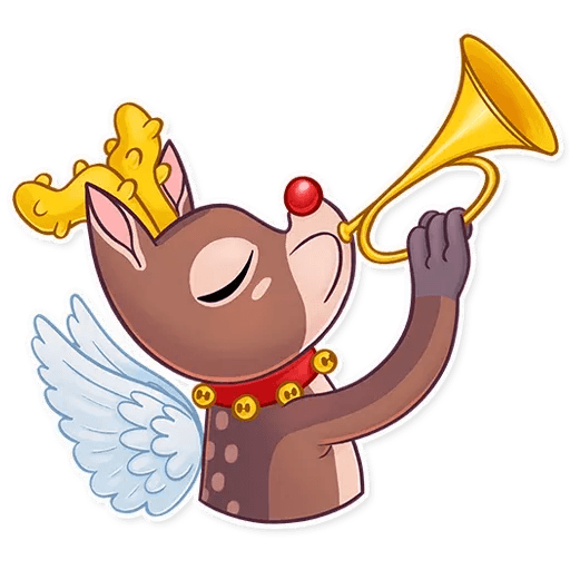 Mr. Deer - Sticker 23