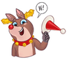 Mr. Deer - Tray Sticker