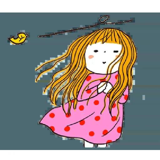 神經大條的女孩 - Sticker 14