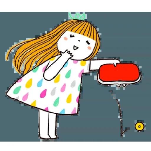 神經大條的女孩 - Sticker 17