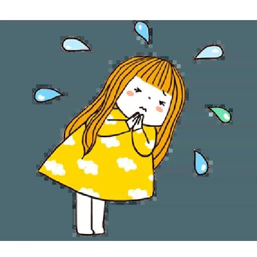 神經大條的女孩 - Sticker 23