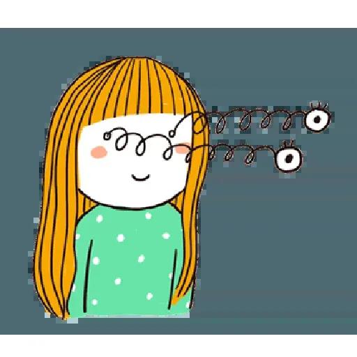 神經大條的女孩 - Sticker 13