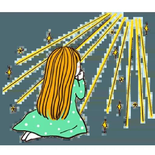 神經大條的女孩 - Sticker 24