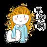 神經大條的女孩 - Tray Sticker