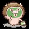 肥寶與肥帥 (2) - Tray Sticker
