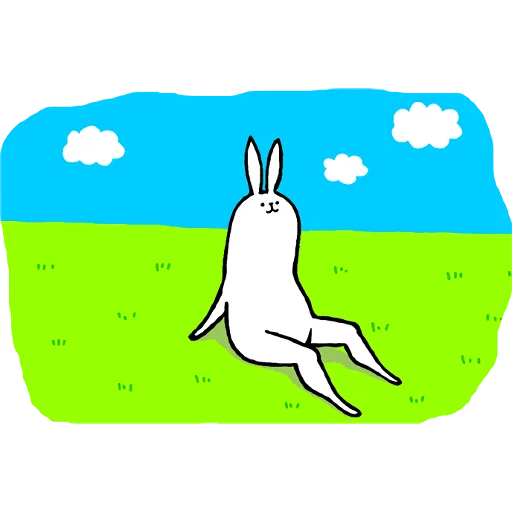 Rabbit with beautiful legs - Sticker 29
