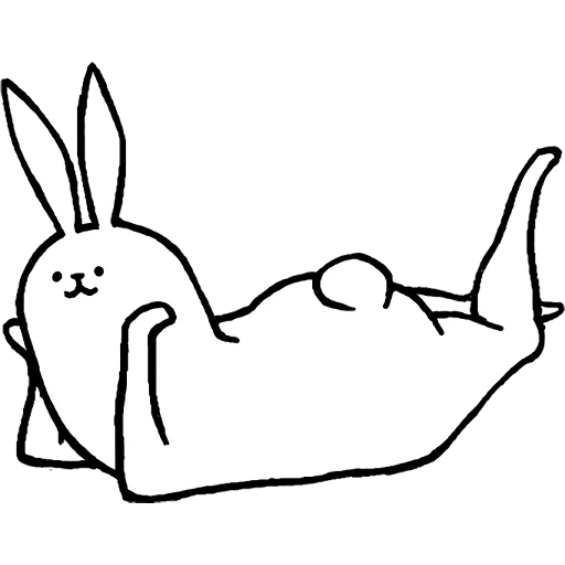 Rabbit with beautiful legs - Sticker 17