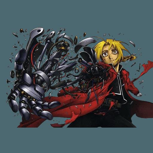 Fullmetal Alchemist - Sticker 6