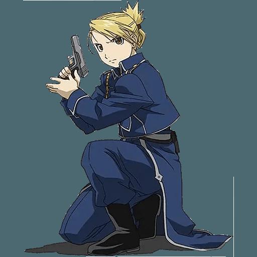 Fullmetal Alchemist - Sticker 15