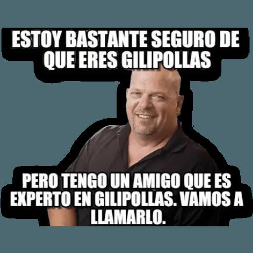 Memes en Español I - Sticker 19