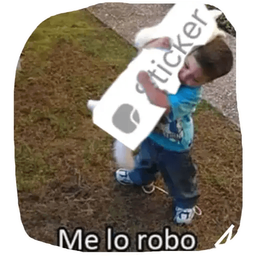 Memes en Español I - Sticker 1