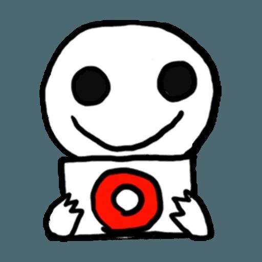 Mr.Poker face 1 - Sticker 29