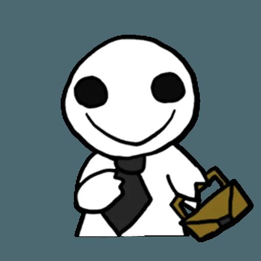 Mr.Poker face 1 - Sticker 9