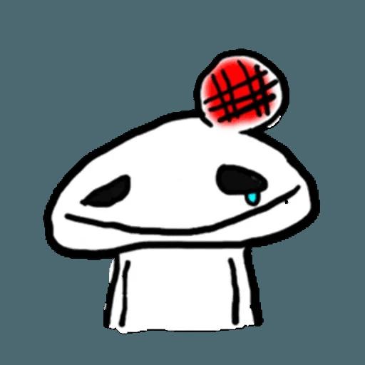 Mr.Poker face 1 - Sticker 15
