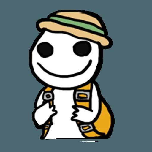 Mr.Poker face 1 - Sticker 7