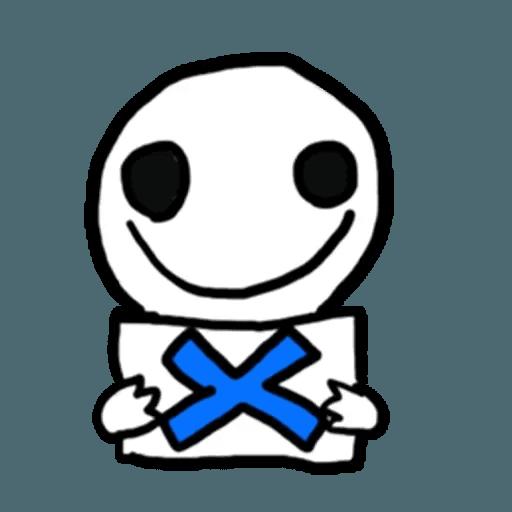 Mr.Poker face 1 - Sticker 30