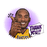 NBA - Tray Sticker