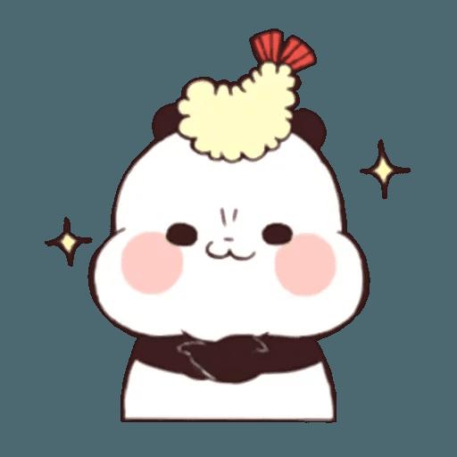 熊貓1 - Sticker 11