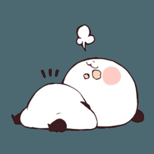 熊貓1 - Sticker 16