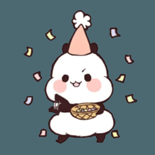 熊貓1 - Sticker 15