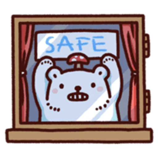 白白日記 Stay Safe - Sticker 22