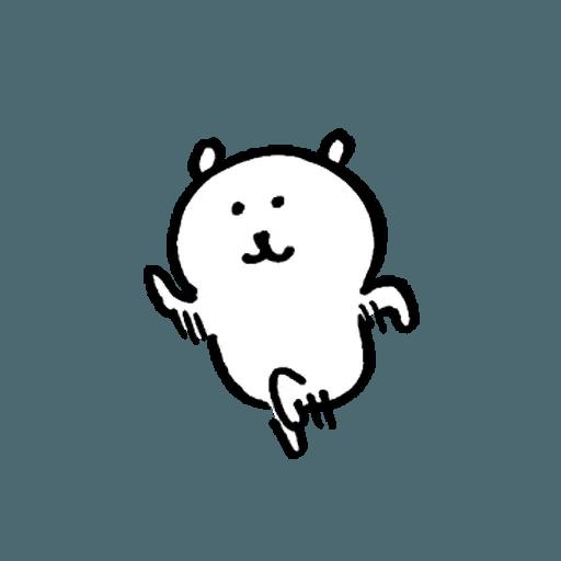 白熊22 - Sticker 16