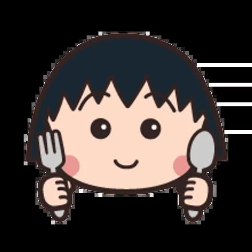 小丸子 - Sticker 10