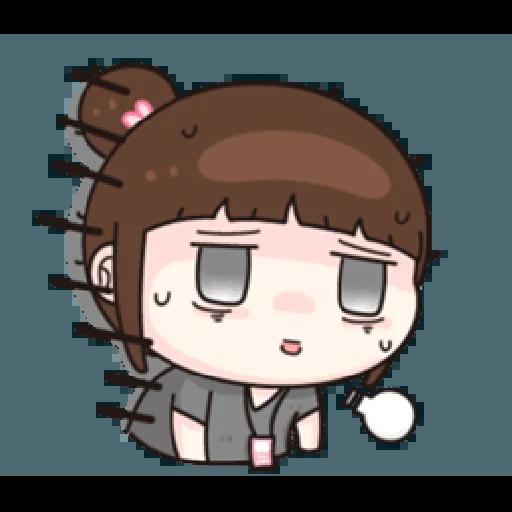 小资女 - Sticker 17