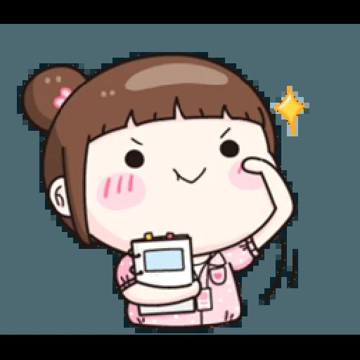 小资女 - Sticker 4
