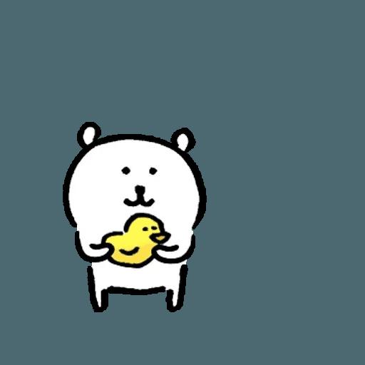 白熊 - Sticker 9