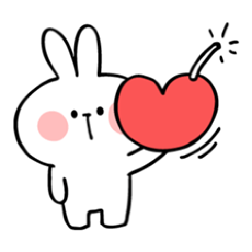 Spoiled Rabbit Heart 1 - Sticker 5