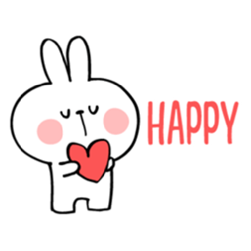 Spoiled Rabbit Heart 1 - Sticker 4