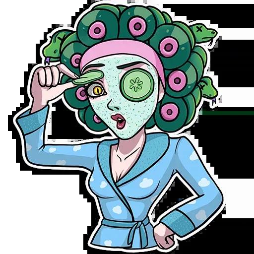 Medusa - Sticker 30