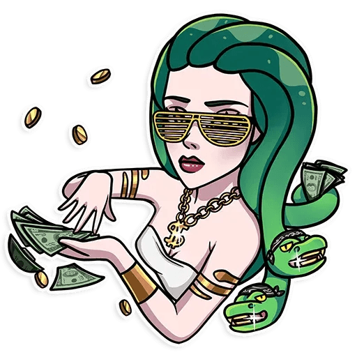 Medusa - Sticker 2