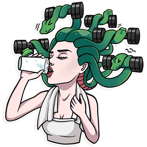 Medusa - Sticker 1