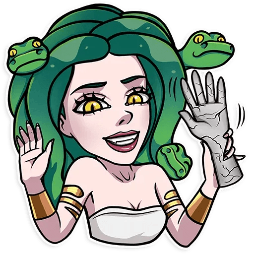 Medusa - Sticker 14