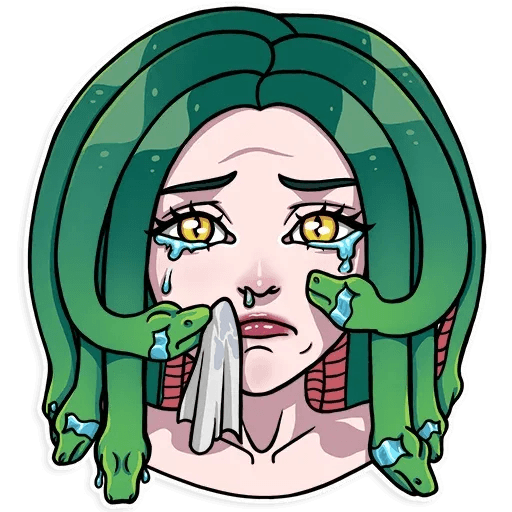Medusa - Sticker 15