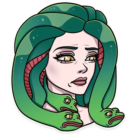 Medusa - Sticker 9