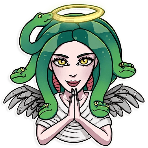 Medusa - Sticker 29