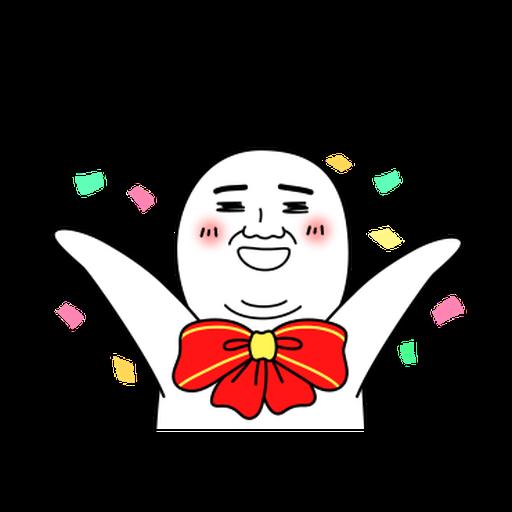 雙下巴阿北 - Sticker 6