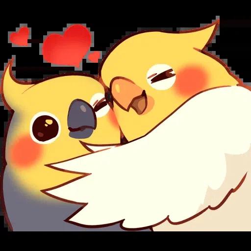 Birds2 sticker - Sticker 6