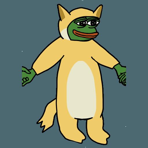 Pepe人鏈 - Sticker 10