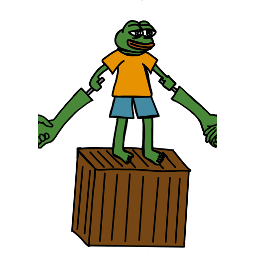 Pepe人鏈 - Sticker 23