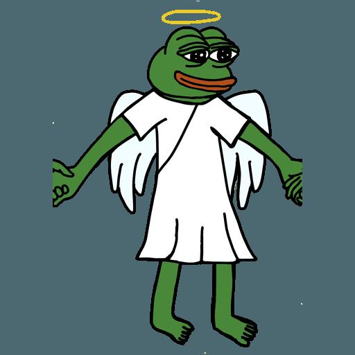 Pepe人鏈 - Sticker 22