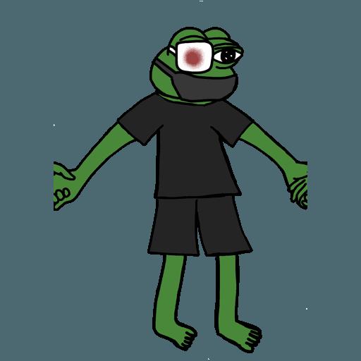 Pepe人鏈 - Sticker 19