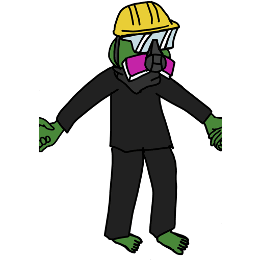 Pepe人鏈 - Sticker 20