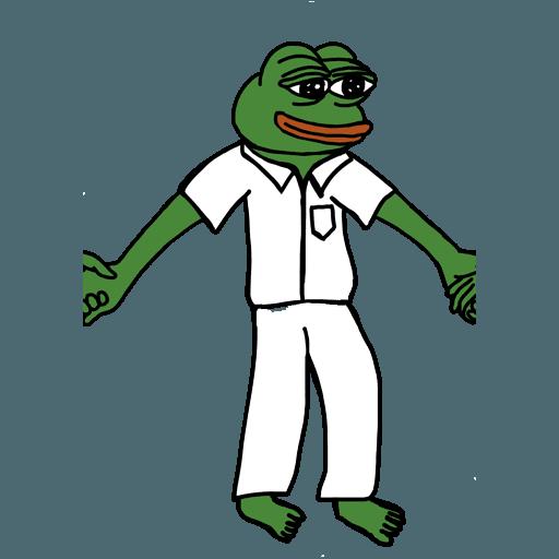 Pepe人鏈 - Sticker 17