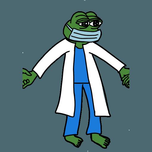 Pepe人鏈 - Sticker 5